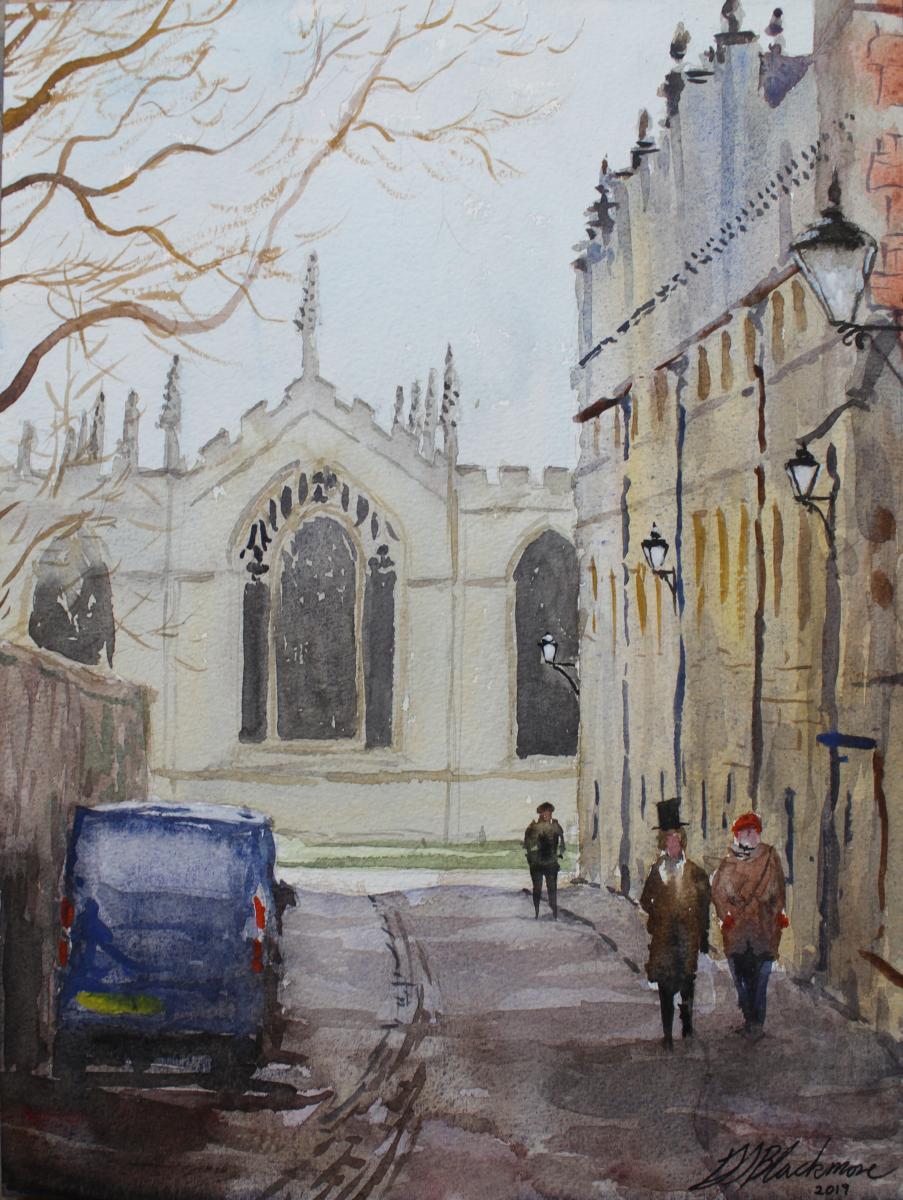Brasenose Lane